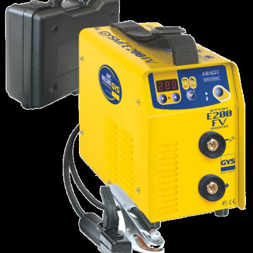 GYSMI 200E FV INVERTER ARC welder with carry case