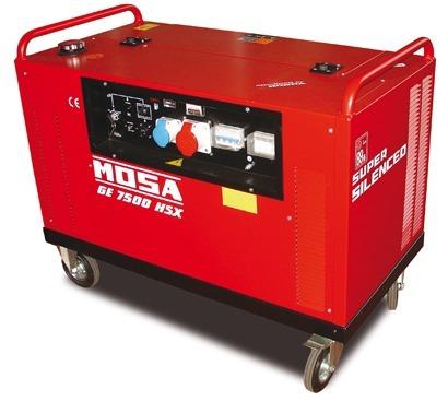 Mosa GE 7500 HSX-EAS Generator