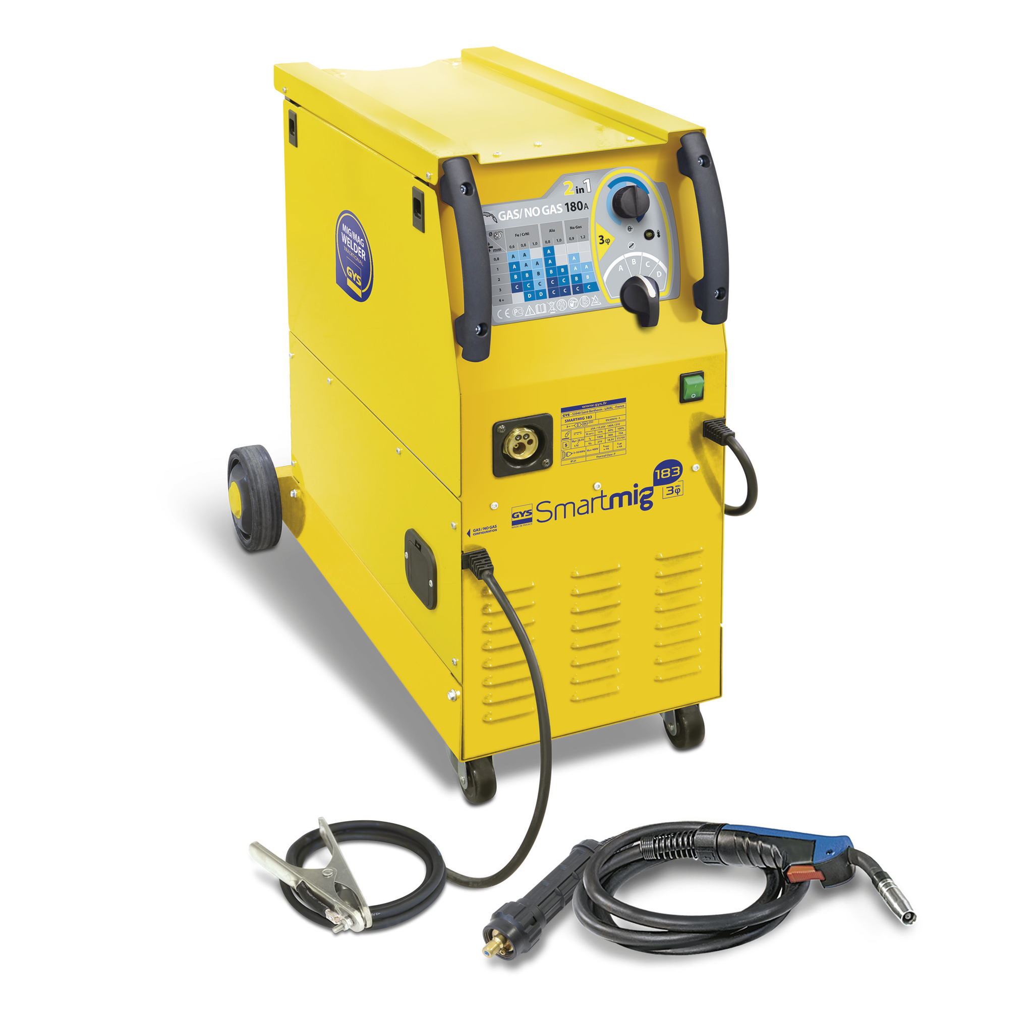 Mig Welder Gys Smartmig 183 As Easy As 1 2 3