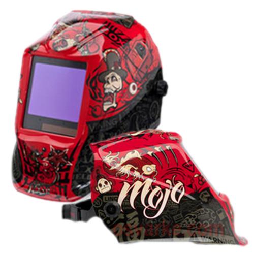 d0906e74f Lincoln Viking 3350 Welding Helmet Mojo Red