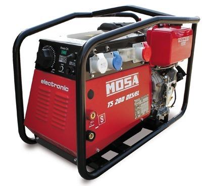 MOSA TS200 DESIEL / CF Welder & Generator