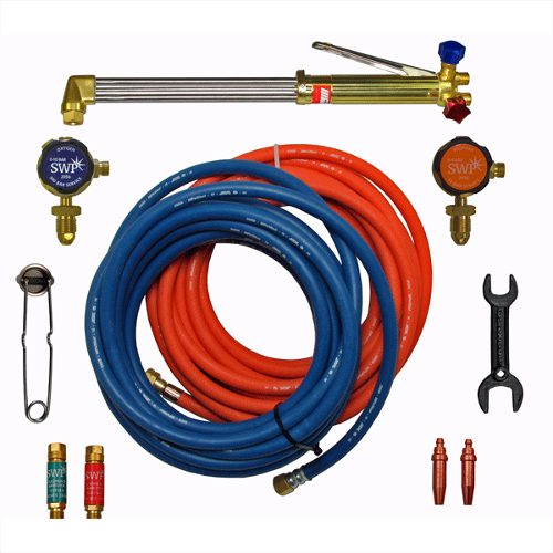 Oxygen and Acetylene Cutting Set comes boxed select options