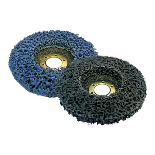 Poly Discs slightly softer more flexible for metal, wood, stainless, ali.