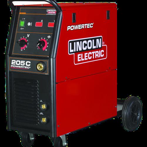 Lincoln Powertec 255C MIG Welder