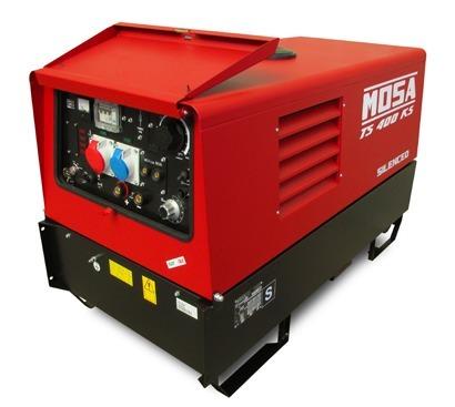 Mosa TS 400 KS-KSX/EL Welder & Generator