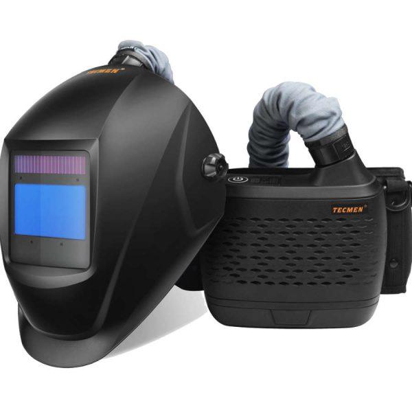 Tecmen Papr Air Fed Welding Head Shield Helmet Mask