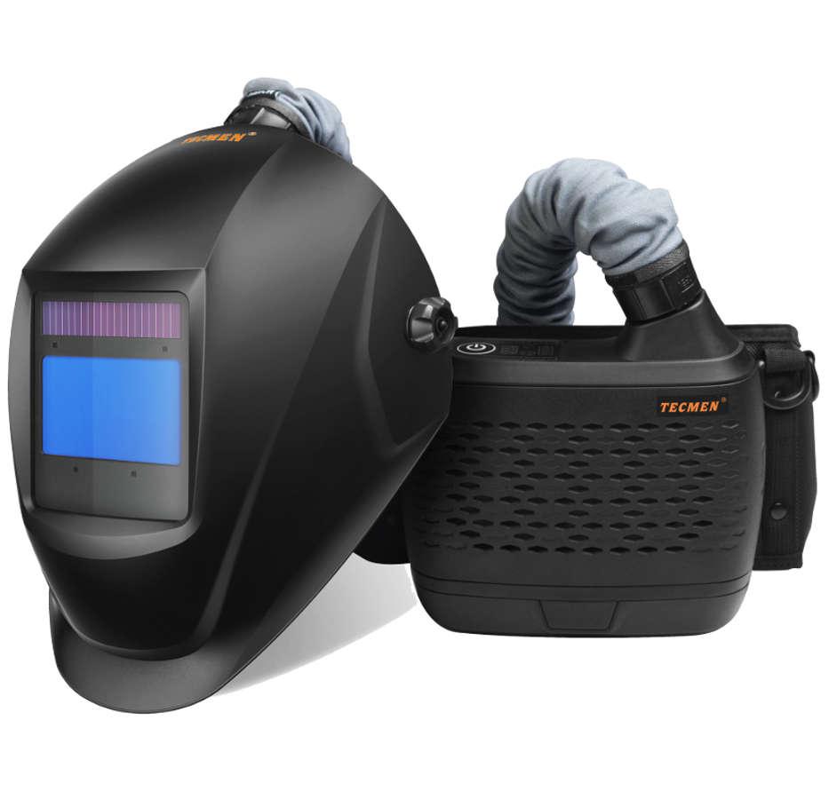 Tecmen Papr Air Fed Welding Headshield Helmet Allied Welding