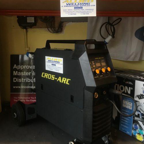 MIG & ARC Welder Cros Arc 201c Pro & DIY 230V +TIG Option