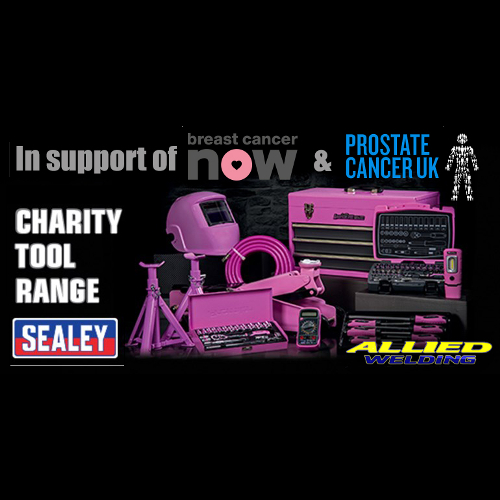 Cancer Charity Tools Range