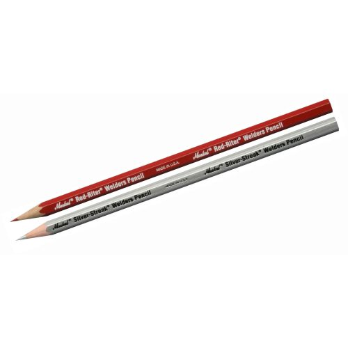 Welders pencils Markal Silver-streak/Red-riter